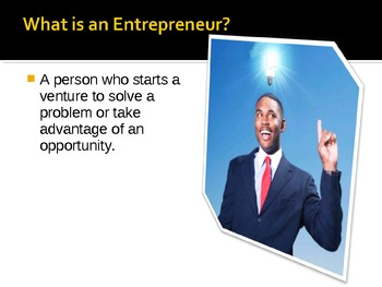 Becoming An Entrepreneur