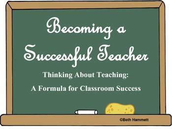 Becoming a Successful Teacher