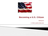Becoming a U.S. Citizen Webquest