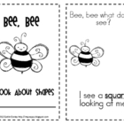 Bee, Bee: Flat Shapes