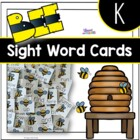Bee Kindergarten Sight Words