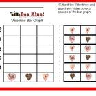 Bee Mine Valentine Pictograph