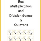 Bee Multiplication and Division Games & Counters eBook