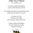 Bee My Friend: Valentine's poetry freebie