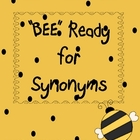 &quot;Bee&quot; Ready for Synonyms a Buggy Spring mini activity