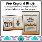 Bee Reward Binder (Positive Behavior Incentive Program)