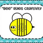 Bee Rules or Facts Craftivity