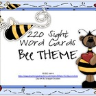 Bee Theme Sight Word Pack {For Games or Word Walls}