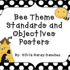 Bee Theme Standards and Objectives Posters