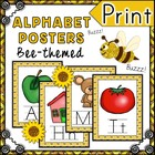 Bee Themed Alphabet Posters