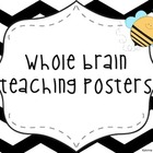 Bee Themed Whole Brain Teaching Posters