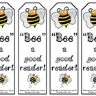 """Bee"" a Good Reader!  Printable Bookmarks"