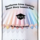 Beethoven Lives Upstairs by Barbara Nichol Lesson Plans, W