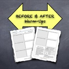 """Before & After"" Warm-Ups:  Promote Reflection About Commo"