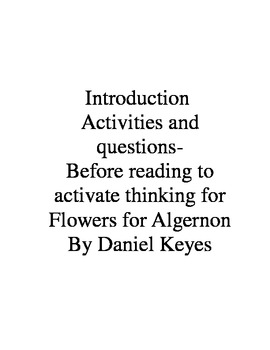 Chrisnessdonkwqfg flowers for algernon word search answers fandeluxe Image collections