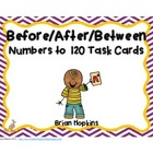 Before/After/Between Numbers to 120 Task Cards (1.NBT.1)