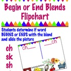 Begin or End Blend Flipchart -  ch , sh, sk, &amp; st