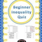 Beginner Inequalities Quiz