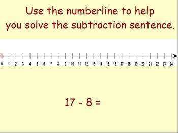Beginner Subtraction for Activboard