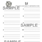 Beginning Blends Activity Pack