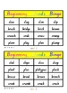 Beginning Blends Lotto/Bingo Literacy Games x 5 sets - 20 pages
