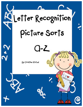 Beginning Letter Sounds & Recognition: Cut & Paste Sorting
