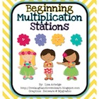 Beginning Multiplication Stations