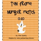 Beginning Number Concepts- Ten Frame- Halloween