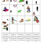 Beginning Reading Position Words Picture Match