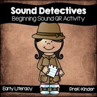 Beginning Sound Detectives (Free QR Code Activity)
