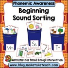 Beginning Sound Sorting