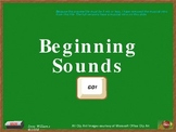 Beginning Sounds A-E Interactive PowerPoint