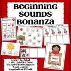Beginning Sounds Bonanza!  {8 Centers}