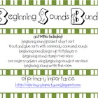 Beginning Sounds Bundle