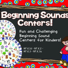 Beginning Sounds Center! ~ RF.K.1d, RF.K.2, RF.K.3, RF.K.3