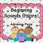 Beginning Sounds Galore
