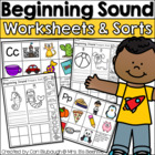 Beginning Sounds Letter Sort