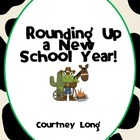 Beginning of Year Packet - Western Theme