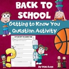 Beginning of the Year Activity for Getting to Know Students