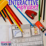 Alphabet Interactive Morning Work Book-Letters A to Z Bundle