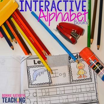 Beginning of the Year  - Interactive Morning Work Book-Letters A to Z Bundle