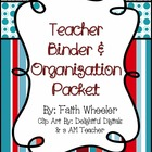 Beginning of the Year Teacher Packet (Stripes & Dots)