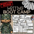 Beginning of the Year Writing Boot Camp