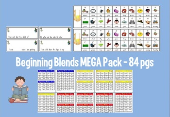 Beginning/Initial Blends Mega Pack - 84 pages