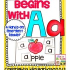 Begins with Aa {a Hands-On Emergent Reader}