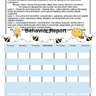 Behavior Calendars Bees