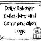 Behavior Calendars