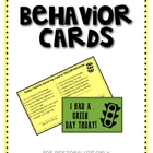 Behavior Card Tickets