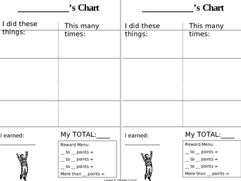 Behavior Chart - Basic Reward Chart