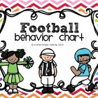 Behavior Chart- Football